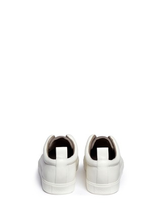 Back View - Click To Enlarge - Vince - 'Caden' colourblock leather slip-on sneakers