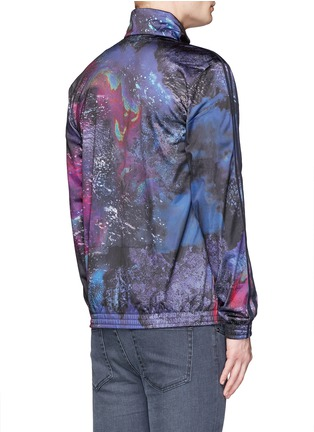 Back View - Click To Enlarge - Adidas - 'Running Beckenbauer' print track jacket