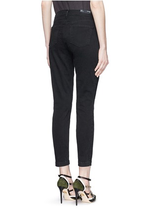 Back View - Click To Enlarge - J Brand - 'Genesis' zip front luxe twill utility pants