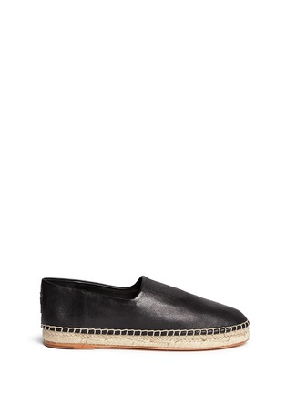 Main View - Click To Enlarge - Opening Ceremony - 'Keata' leather espadrille slip-ons
