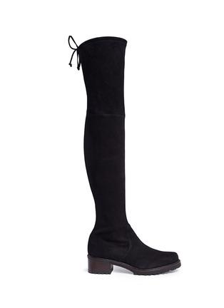 Main View - Click To Enlarge - Stuart Weitzman - 'Vanland' knee high suede boots