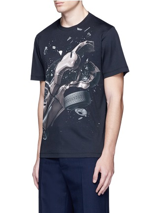 Front View - Click To Enlarge - Christopher Kane - 'Car Crash' print cotton T-shirt