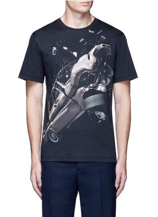 Main View - Click To Enlarge - Christopher Kane - 'Car Crash' print cotton T-shirt