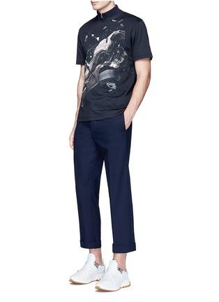 Figure View - Click To Enlarge - Christopher Kane - 'Car Crash' print cotton T-shirt