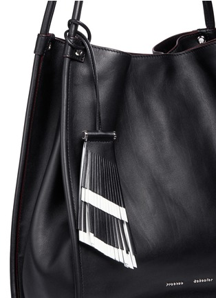Detail View - Click To Enlarge - PROENZA SCHOULER - Medium calfskin leather tote