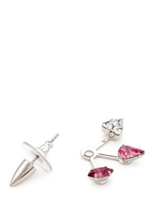 Detail View - Click To Enlarge - Joomi Lim - 'Love Thorn' crystal spike stud earrings