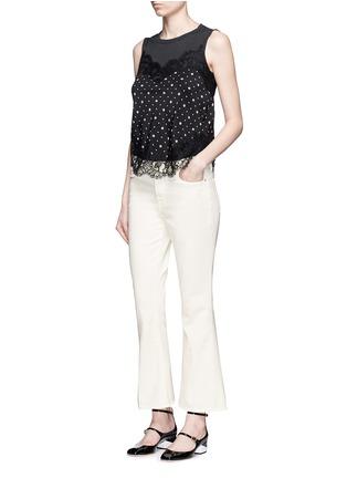 Figure View - Click To Enlarge - Frame Denim - x Inez & Vinoodh 'Inez' flared jeans