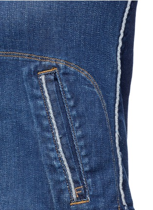 Detail View - Click To Enlarge - FRAME DENIM - 'Le Jacket' cotton blend denim jacket