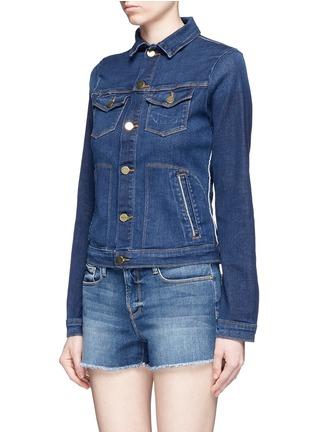 Front View - Click To Enlarge - FRAME DENIM - 'Le Jacket' cotton blend denim jacket