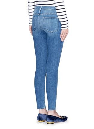 Back View - Click To Enlarge - FRAME DENIM - 'Le Skinny De Jeanne' cropped jeans