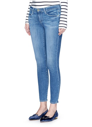 Front View - Click To Enlarge - Frame Denim - 'Le Skinny De Jeanne' cropped jeans