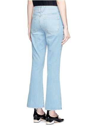 Back View - Click To Enlarge - Frame Denim - x Inez & Vinoodh 'Inez' whiskered flared jeans