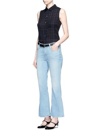Figure View - Click To Enlarge - Frame Denim - x Inez & Vinoodh 'Inez' whiskered flared jeans