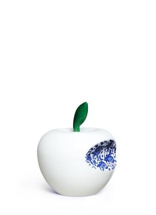 Main View - Click To Enlarge - LI LIHONG - Floral bite apple sculpture