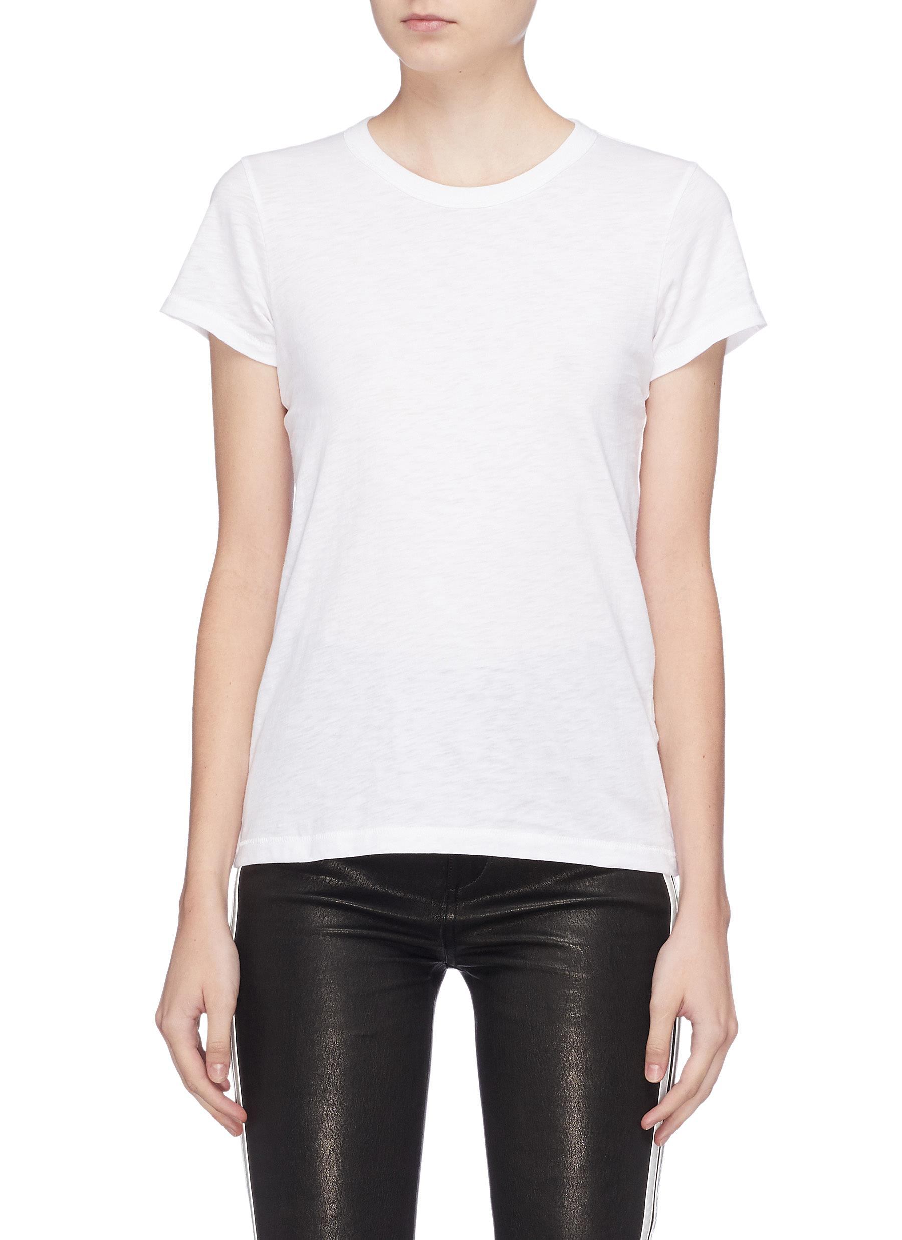 The Tee Pima cotton slub jersey T-shirt by Rag & Bone/Jean
