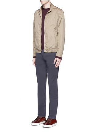 Figure View - Click To Enlarge - Armani Collezioni - Wool crew neck sweater