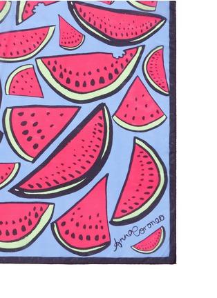 Detail View - Click To Enlarge - Anna Coroneo - 'Watermelon Bella' silk chiffon scarf