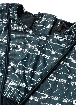 Detail View - Click To Enlarge - The Upside - 'Jungle Shiboro' print performance paddle suit