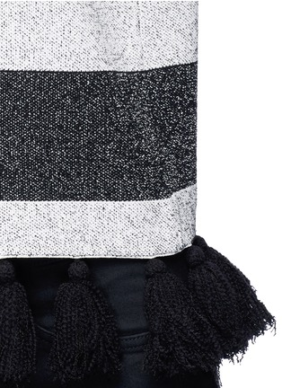 Detail View - Click To Enlarge - Proenza Schouler - Fringe tassel knit sweater