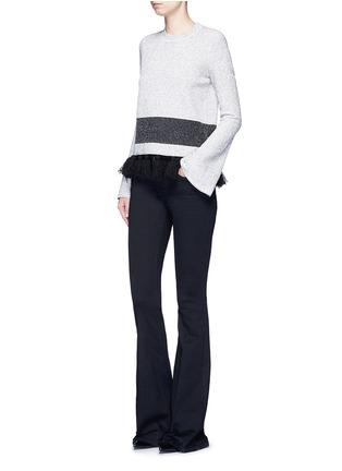 Figure View - Click To Enlarge - PROENZA SCHOULER - Fringe tassel knit sweater