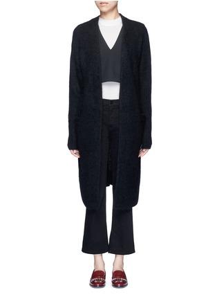 Main View - Click To Enlarge - Acne Studios - 'Raya' kimono sleeve mohair blend cardigan