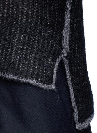 Detail View - Click To Enlarge - Acne Studios - 'Vasya' mohair blend turtleneck sweater