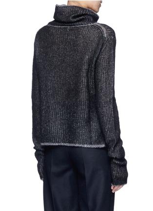 Back View - Click To Enlarge - Acne Studios - 'Vasya' mohair blend turtleneck sweater