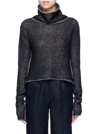 Main View - Click To Enlarge - Acne Studios - 'Vasya' mohair blend turtleneck sweater