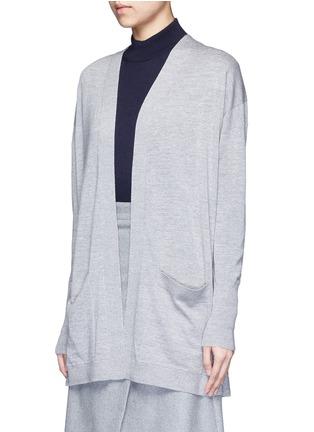Front View - Click To Enlarge - ACNE STUDIOS - 'Corta' Merino wool cardigan