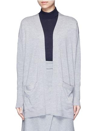 Main View - Click To Enlarge - ACNE STUDIOS - 'Corta' Merino wool cardigan