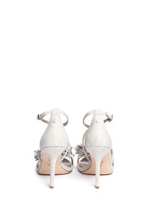 Back View - Click To Enlarge - Sam Edelman - 'Aisha' fringe suede sandals