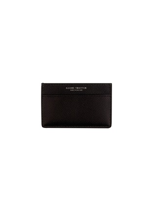 Main View - Click To Enlarge - Globe-Trotter - Jet name card holder – Black