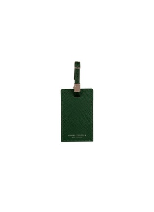 Main View - Click To Enlarge - GLOBE-TROTTER - Large luggage tag – Green