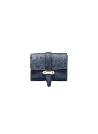 Main View - Click To Enlarge - GLOBE-TROTTER - Coin purse – Navy