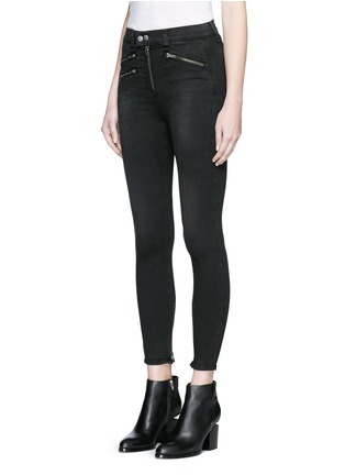 Front View - Click To Enlarge - RAG & BONE/JEAN - High waist biker denim pants