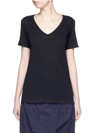 Main View - Click To Enlarge - rag & bone/JEAN - 'Base' V-neck T-shirt