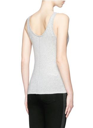 Back View - Click To Enlarge - rag & bone/JEAN - 'Base' Pima cotton tank top