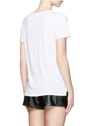Back View - Click To Enlarge - rag & bone/JEAN - 'X Boyfriend' chest pocket Pima cotton T-shirt