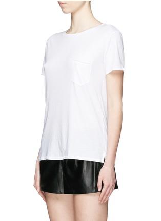 Front View - Click To Enlarge - rag & bone/JEAN - 'X Boyfriend' chest pocket Pima cotton T-shirt