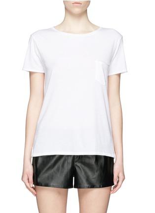 Main View - Click To Enlarge - rag & bone/JEAN - 'X Boyfriend' chest pocket Pima cotton T-shirt