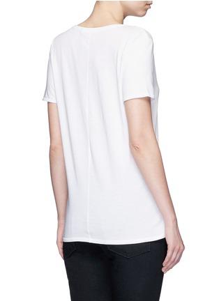 Back View - Click To Enlarge - rag & bone/JEAN - 'Base' V-neck T-shirt