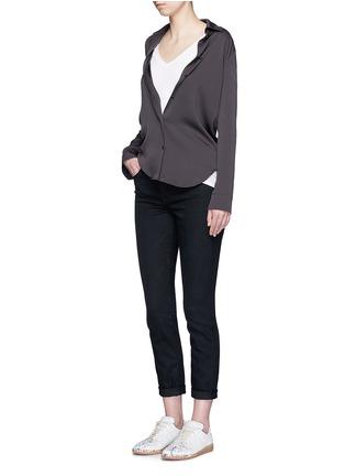 Figure View - Click To Enlarge - rag & bone/JEAN - 'Base' V-neck T-shirt