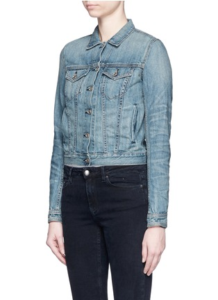Front View - Click To Enlarge - RAG & BONE/JEAN - 'The Jean' cropped denim jacket