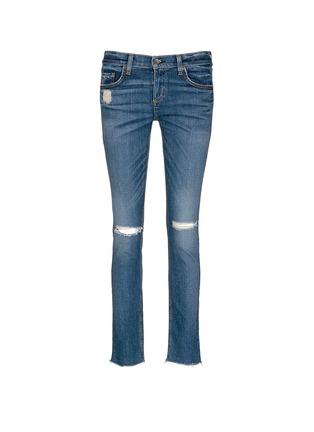 Main View - Click To Enlarge - rag & bone/JEAN - 'The Dre' distressed slim boyfriend jeans