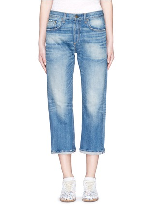 Detail View - Click To Enlarge - rag & bone/JEAN - 'Marilyn Crop' boyfriend jeans