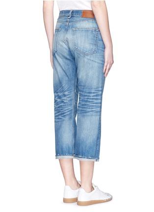 Back View - Click To Enlarge - rag & bone/JEAN - 'Marilyn Crop' boyfriend jeans
