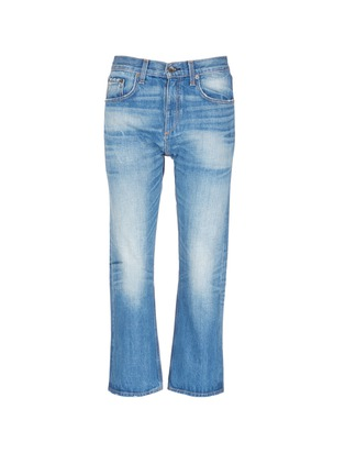 Main View - Click To Enlarge - rag & bone/JEAN - 'Marilyn Crop' boyfriend jeans