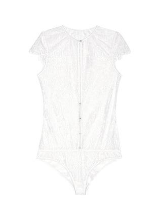 Main View - Click To Enlarge - Kiki De Montparnasse - 'Coquette' lace bodysuit