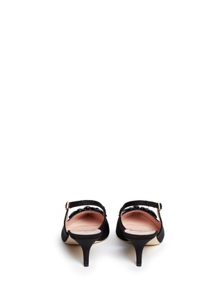 Back View - Click To Enlarge - Kate Spade - 'Marina Too' jewel kitten heel slingback pumps