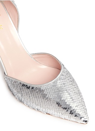 Detail View - Click To Enlarge - KATE SPADE - 'Portia' sequin scale d'Orsay pumps